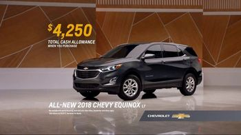 2018 Chevrolet Equinox LT TV Spot, 'Everybody, Everywhere' [T2] - Thumbnail 8