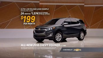2018 Chevrolet Equinox LT TV Spot, 'Everybody, Everywhere' [T2] - Thumbnail 7