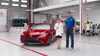 2018 Toyota Camry TV Spot, 'Game Changer' Featuring Eli Manning [T1] - Thumbnail 1