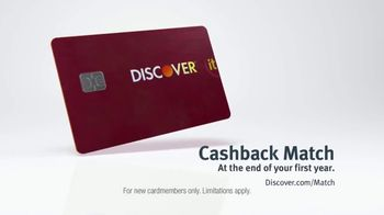 Discover Card Cashback Match TV Spot, 'Freak Out: Let It Go' - Thumbnail 10