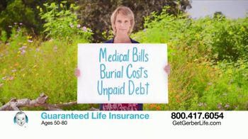 Gerber Guaranteed Life Insurance TV Spot, 'Protect Your Family'