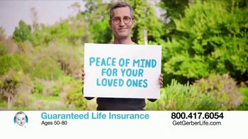 Gerber Guaranteed Life Insurance TV Spot, 'Protect Your Family' - 1240 commercial airings