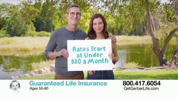 Gerber Guaranteed Life Insurance TV Spot, 'Protect Your Family' - Thumbnail 7