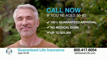 Gerber Guaranteed Life Insurance TV Spot, 'Protect Your Family' - Thumbnail 8