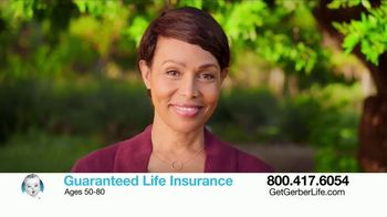 Gerber Guaranteed Life Insurance TV Spot, 'Protect Your Family' - Thumbnail 9