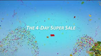 Sherwin-Williams 4-Day Super Sale TV Spot, 'Paints and Stains'
