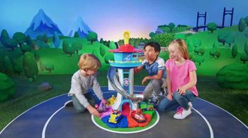 PAW Patrol My Size Lookout Tower TV Spot, 'Pup to the Rescue' - 2164 commercial airings