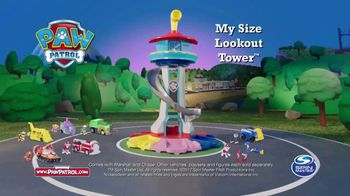 PAW Patrol My Size Lookout Tower TV Spot, 'Pup to the Rescue' - Thumbnail 9