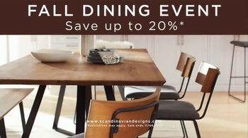 Scandinavian Designs Fall Dining Event TV Spot, 'Entertain in Style' - Thumbnail 3