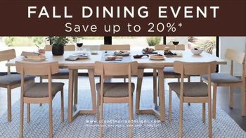 Scandinavian Designs Fall Dining Event TV Spot, 'Entertain in Style' - Thumbnail 6