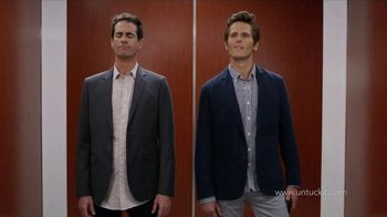 UNTUCKit TV Spot, 'Elevator: Dress Shirt' - Thumbnail 2