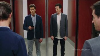 UNTUCKit TV Spot, 'Elevator: Dress Shirt'