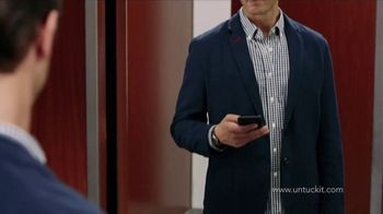 UNTUCKit TV Spot, 'Elevator: Dress Shirt' - Thumbnail 5