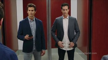 UNTUCKit TV Spot, 'Elevator: Dress Shirt' - Thumbnail 6