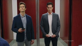 UNTUCKit TV Spot, 'Elevator: Dress Shirt' - Thumbnail 7