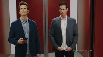 UNTUCKit TV Spot, 'Elevator: Dress Shirt' - Thumbnail 8