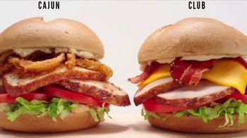 Arby's Deep Fried Turkey TV Spot, 'Cooking Is an Art Form' - Thumbnail 3