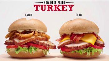 Arby's Deep Fried Turkey TV Spot, 'Cooking Is an Art Form' - Thumbnail 6
