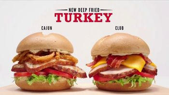 Arby's Deep Fried Turkey TV Spot, 'Cooking Is an Art Form' - 1361 commercial airings