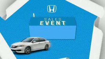 Honda Model Year End Sales Event TV Spot, 'Three Hondas' [T2] - Thumbnail 2