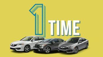 Honda Model Year End Sales Event TV Spot, 'Three Hondas' [T2] - Thumbnail 7