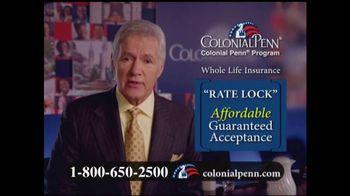 Colonial Penn TV Spot, 'Rate Lock Guaranteed' Featuring Alex Trebek - Thumbnail 4