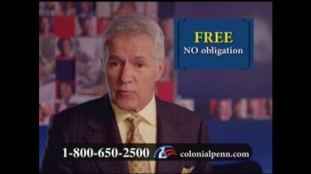 Colonial Penn TV Spot, \'Rate Lock Guaranteed\' Featuring Alex Trebek