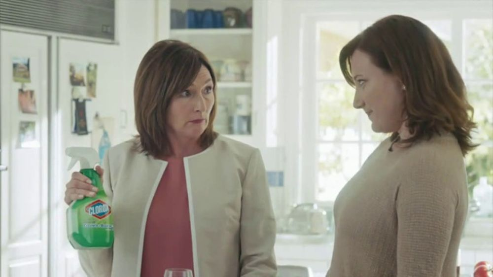Clorox Cleaner Bleach Tv Commercial On Kitchen Stains