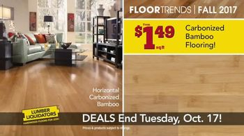 Lumber Liquidators TV Spot, 'Fall Flooring Trends: Cypress & Maple' - Thumbnail 4