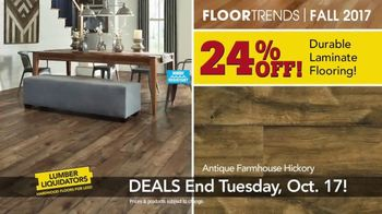 Lumber Liquidators TV Spot, 'Fall Flooring Trends: Cypress & Maple' - Thumbnail 5