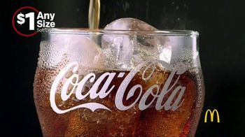 McDonald's $1 Any Size Soft Drinks TV Spot, 'Happy Dance' - 46 commercial airings