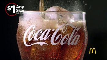 McDonald's $1 Any Size Soft Drinks TV Spot, 'Happy Dance' - Thumbnail 2