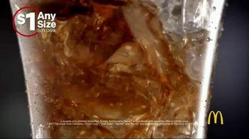 McDonald's $1 Any Size Soft Drinks TV Spot, 'Happy Dance' - Thumbnail 3