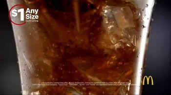 McDonald's $1 Any Size Soft Drinks TV Spot, 'Happy Dance' - Thumbnail 4