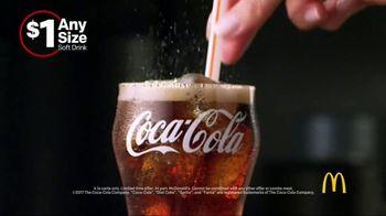 McDonald's $1 Any Size Soft Drinks TV Spot, 'Happy Dance' - Thumbnail 5