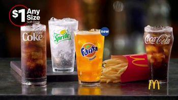 McDonald's $1 Any Size Soft Drinks TV Spot, 'Happy Dance' - Thumbnail 7