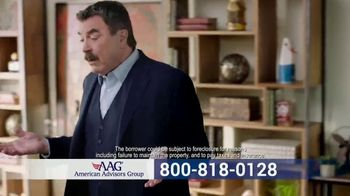 AAG Reverse Mortgage TV Spot, 'Why Not Use It' Featuring Tom Selleck - Thumbnail 4