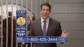 U.S. Money Reserve TV Spot, 'Limited Supply, At-Cost Gold Coins' - Thumbnail 2