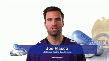 DEA TV Spot, '2017 National Prescription Drug Take Back Day' Ft. Joe Flacco