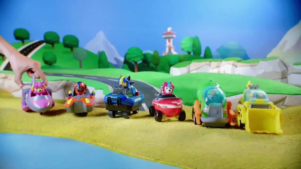 Paw Patrol Sea Patrol Vehicles Tv Commercial Pups To The