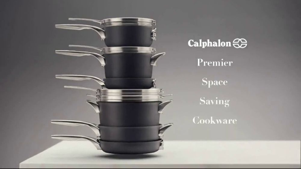 Calphalon Premier Space Saving Cookware TV Spot, Stacking - Screenshot 4