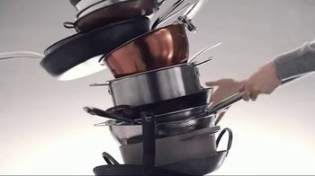 Calphalon Premier Space Saving Cookware TV Spot, 'Stacking' - Thumbnail 3