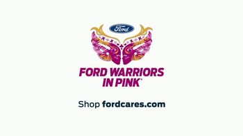 Ford Warriors in Pink TV Spot, 'Agent of Change' Featuring Adam Rodriguez - Thumbnail 9