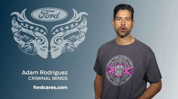 Ford Warriors in Pink TV Spot, 'Agent of Change' Featuring Adam Rodriguez - Thumbnail 4
