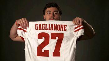 Big Ten Conference TV Spot, 'Faces of the Big Ten: Rafael Gaglianone' - 269 commercial airings