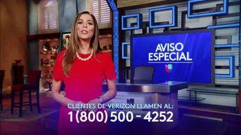 Aviso Especial TV Spot, 'No perder Univsion' con Lourdes Stephen [Spanish]