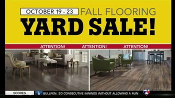 Lumber Liquidators Fall Flooring Yard Sale TV Spot, 'Prefinished Hardwood'