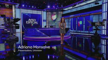 Aviso Especial TV Spot, 'Univision: canales' con Adriana Monsalve [Spanish]