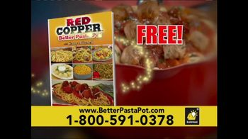 Red Copper Better Pasta Pot TV Spot, 'Time to Strain' Feat. Cathy Mitchell - Thumbnail 8