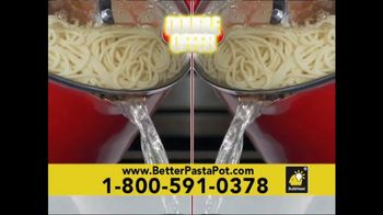 Red Copper Better Pasta Pot TV Spot, 'Time to Strain' Feat. Cathy Mitchell - Thumbnail 9